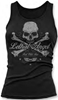 LETHAL THREAT WOMENS LETHAL ANGEL SKULL N CROSSBONES TANK TOP