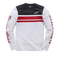 ALPINESTARS 2-STROKE LONG-SLEEVE KNIT T-SHIRT