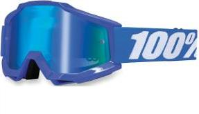 100% ACCURI GOGGLES WITH MIRROR LENS