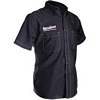 THROTTLE THREADS MENS PISTON SHORT-SLEEVE SHOP SHIRT