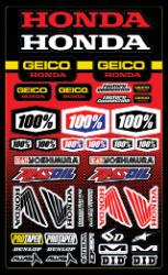 100 PERCENT DECAL SHEETS