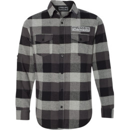 THROTTLE THREADS MENS PARTS UNLIMITED FLANNEL SHIRTS