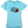 100% WOMENS ROSE T-SHIRT