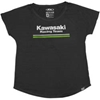 FACTORY EFFEX WOMENS KAWASAKI STRIPES DOLMAN T-SHIRT