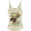 LETHAL THREAT WOMENS LETHAL ANGEL MIDNIGHT RIDER TANK TOP