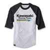 FACTORY EFFEX KAWASAKI RACING BASEBALL T-SHIRT