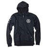 FACTORY EFFEX YAMAHA TUNING FORK UNLINED ZIP-UP HOODY