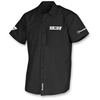 THROTTLE THREADS MENS TEAM VANCE & HINES SHORT-SLEEVE SHOP SHIRT