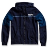 100% EMISSARY FLEECE ZIP HOODY