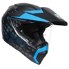 AGV AX-9 PATTERNED MATTE HELMET