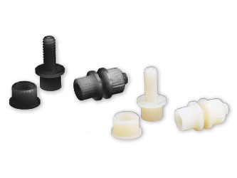 PARTS UNLIMITED NYLON LICENSE PLATE  FASTENERS