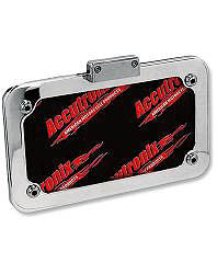 ACCUTRONIX LICENSE PLATE FRAME ASSEMBLY WITH LED LIGHT