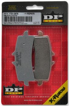 DP Brakes Standard Brake Pads DP631 Aprilia Can Am for Ducati KTM