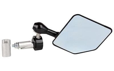 DRIVEN HALO STAINLESS STEEL BAR END MIRRORS