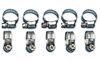 DRAG SPECIALTIES STAINLESS STEEL MINI CLAMPS