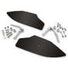 SHOW CHROME ACCESSORIES UPPER AND LOWER WIND DEFLECTORS