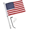 SHOW CHROME ACCESSORIES 12 IN. POLE WITH FLAG