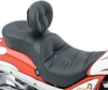 DRAG SPECIALTIES LOW-PROFILE TOURING SEATS WITH EZ GLIDE II BACKREST OPTION
