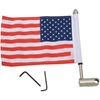 PRO PAD INC EXTENDED-STYLE LUGGAGE RACK FLAG MOUNTS WITH FLAG