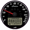 Black Dial Face Speedometer