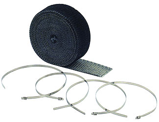 ACCEL MOTORCYCLE PRODUCTS HIGH TEMPERATURE EXHAUST WRAP KITS