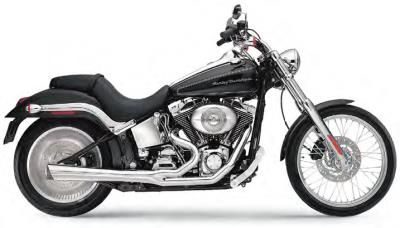 SUPERTRAPP 2-INTO-1 SUPERMEG SYSTEMS FOR SOFTAIL