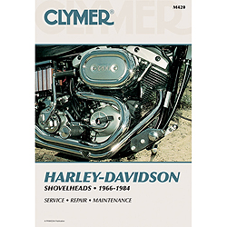 CLYMER MOTORCYCLE REPAIR MANUALS