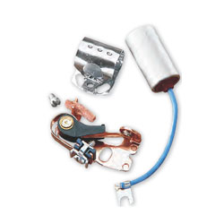 BLUE STREAK HIGH PERFORMANCE POINTS AND CONDENSER from Drag