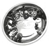 MOTION PRO STAINLESS STEEL MAGNETIC PARTS DISH