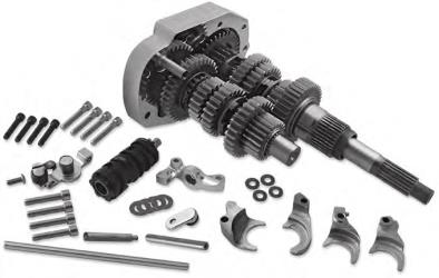 BAKER DRIVETRAIN 6-SPEED GEAR SETS FOR EVOLUTION BIG TWIN MODELS