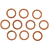 EASTERN MOTORCYCLE PARTS COPPER CRUSH WASHERS FOR WHEEL CYLINDER BOLT