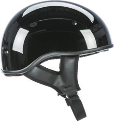 .357 SOLID COLOR HALF HELMET