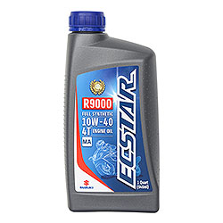 Designed to maximize the power and efficiency of Suzuki engines, ECSTAR R9000 Full Synthetic Engine Oil represents the pinnacle of ECSTAR product development. Suzuki created this high-performance lubricant after hundreds of hours and thousands of laps.
