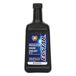 ECSTAR 50/50 Premix Coolant is specially blended from a formula containing corrosion inhibitors, providing outstanding aluminum protection. Blended to protect and lubricate water pump and seals, while resisting high rpm foaming.