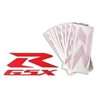 GSX R Die Cut Reflective Decal