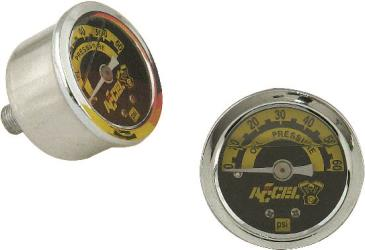 ACCEL LIQUID FILLED OIL PRESSURE GAUGES
