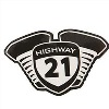 HIGHWAY 21 DECALS
