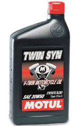 MOTUL TWIN SYN 20W50 SYNTHETIC BLEND  MOTOR OIL