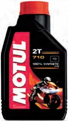 MOTUL 710 SYNTHETIC 2 STROKE MOTOR OIL