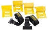 MOOSE UTILITY DIVISION WHEEL CHOCK AND TIE-DOWN STRAP KIT