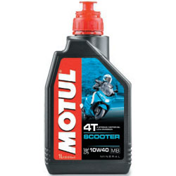 MOTUL 4T SCOOTER 10W40 MOTOR OIL