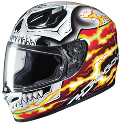 HJC FG-17 MARVEL GHOST RIDER FULL FACE HELMET