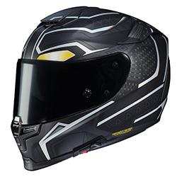 hjc rpha 70st marvel black panther helmet from sullivans inc. Black Bedroom Furniture Sets. Home Design Ideas