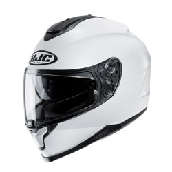 HJC C-70 SOLID AND SEMI-FLAT FULL FACE HELMET
