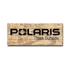 Polaris Wood Sign