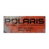 Polaris Steel Sign