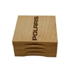 Polaris Wooden Coasters with Bottle Opener