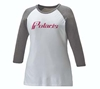 Baseball 3/4 Sleeve Womens Tee