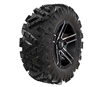Pro Armor Attack 2.0 28 In. Tire with Flare Wheels