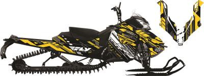 ARCTIC FX GRAPHICS FLY RACING EVASION GRAPHIC